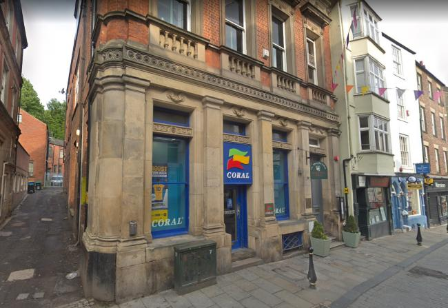 An application has been made to turn the former Coral betting shop in Saddler Street, Durham, into a bar