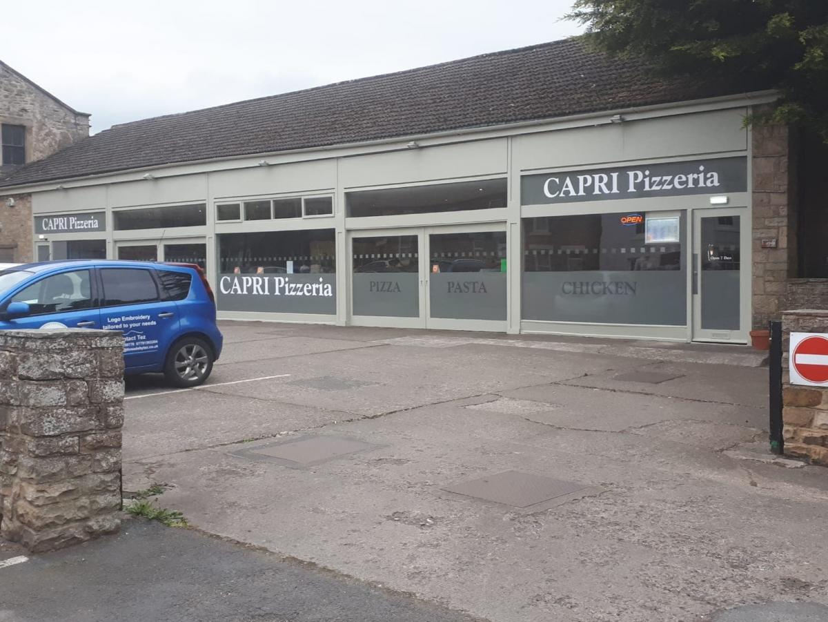 Eating Out Capri Pizzeria Barnard Castle The Northern Echo