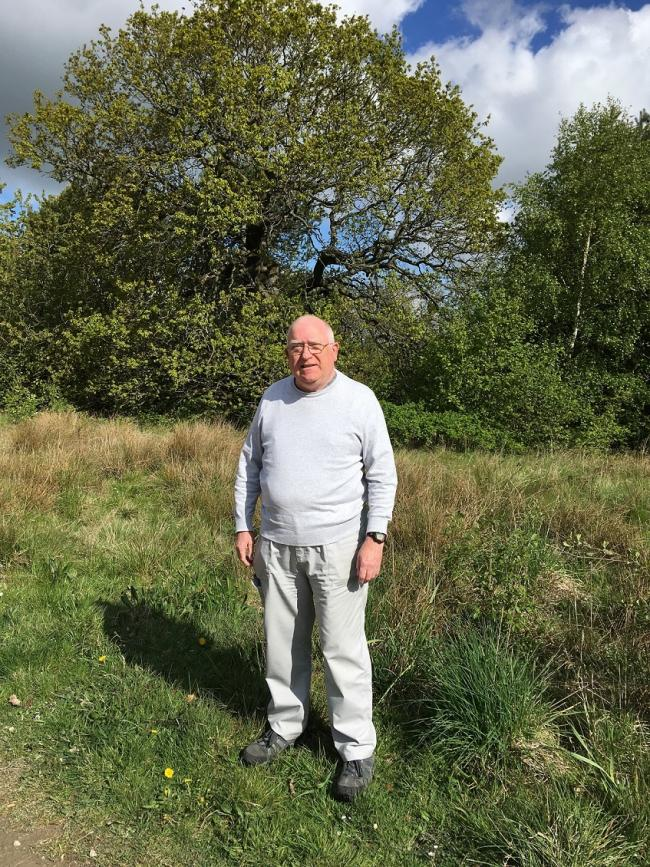 Cliff Waghorn, 75, from Chester-le-Street is hoping his story will encourage other people to start walking
