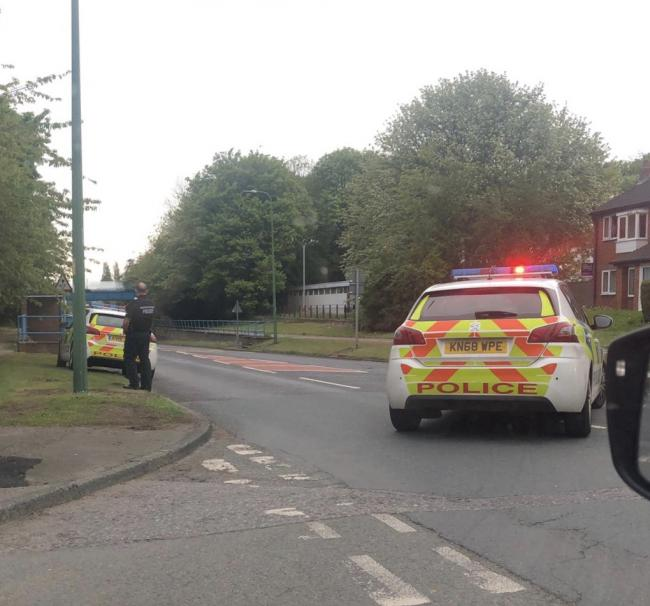 Saint Cuthbert's Way in Newton Aycliffe has been closed by police due to an ongoing incident.