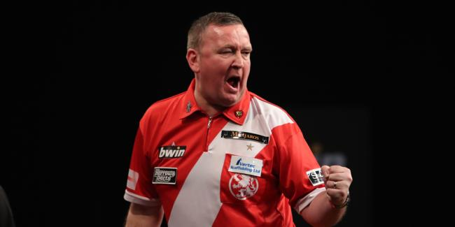 Glen Durrant claimed his second PDC title in Barnsley at the weekend (Picture: Lawrence Lustig/PDC)