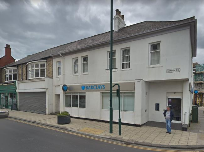 Man robbed after using cashpont at Barclays in Redcar Picture: GOOGLE