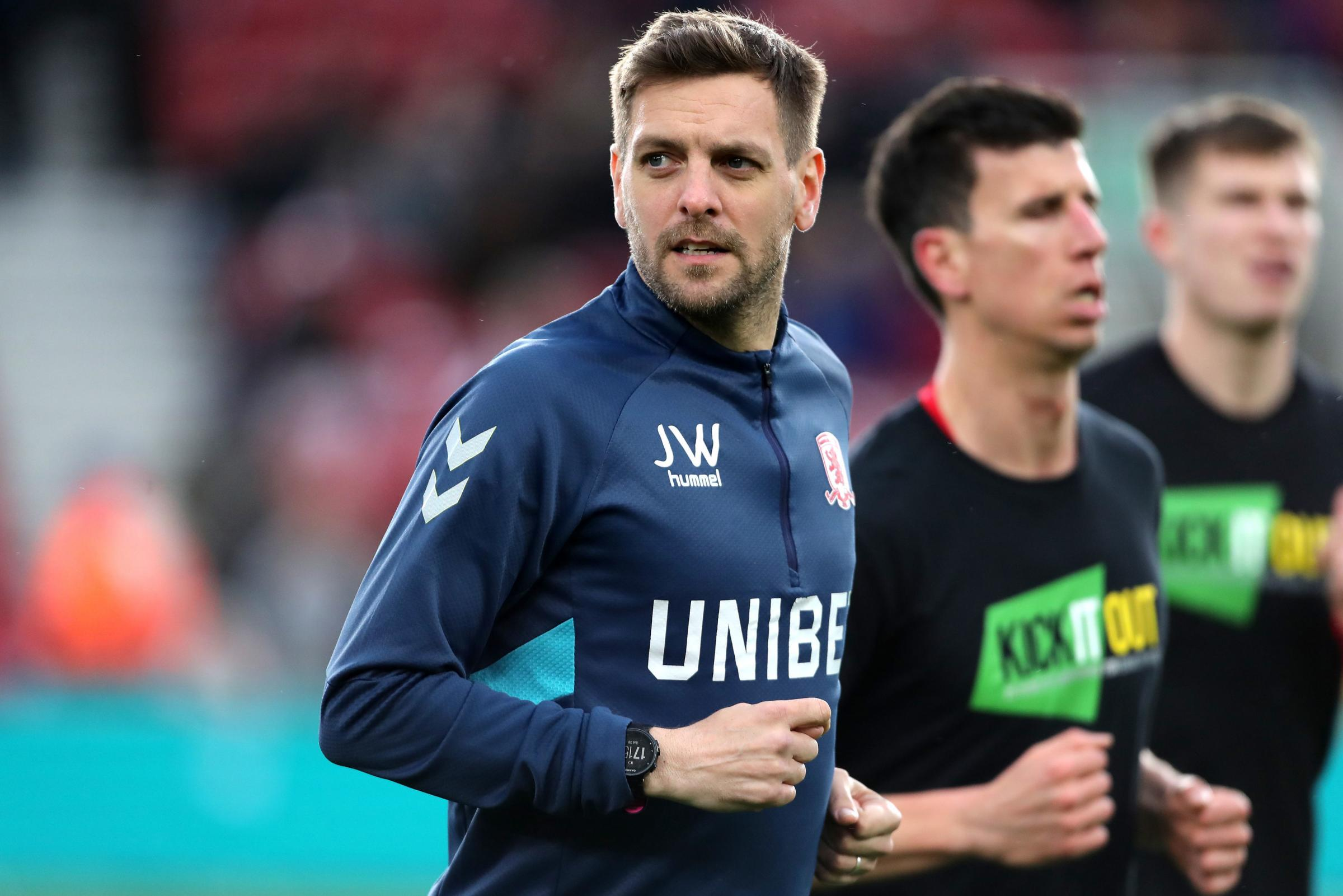 Middlesbrough's reshuffle begins and Woodgate remains in frame
