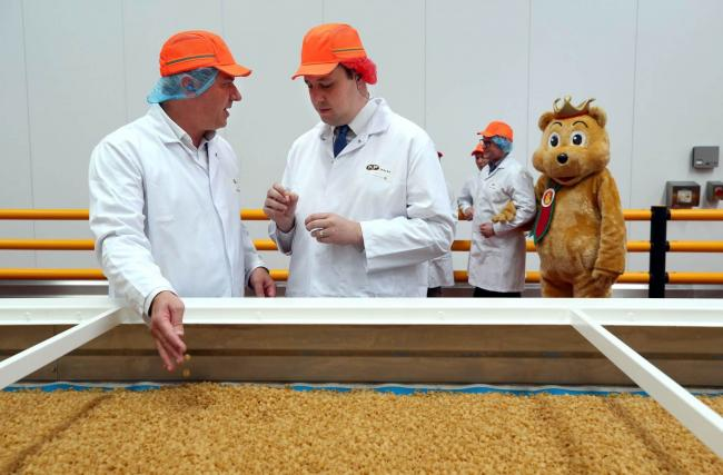 KP Snacks Teesside officially opens its new pellet manufacturing facility at its factory in Billingham Pictures: CHRIS BOOTH