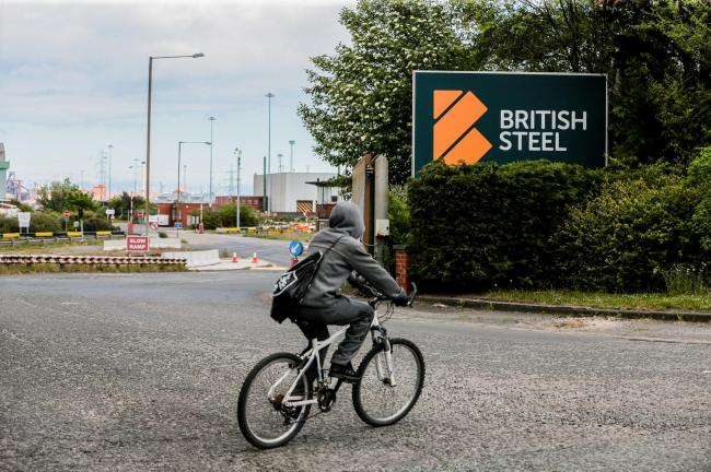 British Steel at Lackenby Works. Picture: SARAH CALDECOTT