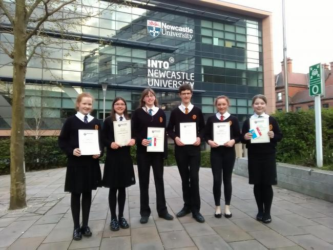 Students excel in maths challenge | The Northern Echo