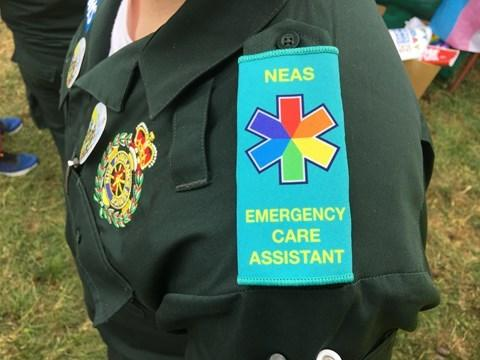North East Ambulance Service has retained its place as a top Stonewall employer for the fourth consecutive year. Picture: NEAS