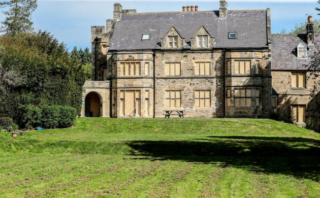 Whorlton Hall, near Barnard Castle, has been boarded up following an investigation into the alleged abuse of patients. Picture: SARAH CALDECOTT