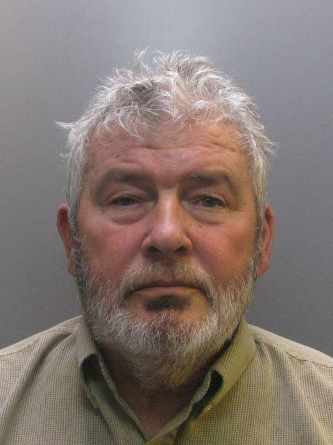 George Errington, 73, has been jailed for nine years