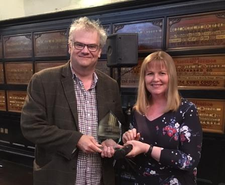 Colin Wilkes, who runs Durham Market, was one of the first people to receive a Durham good citizen award