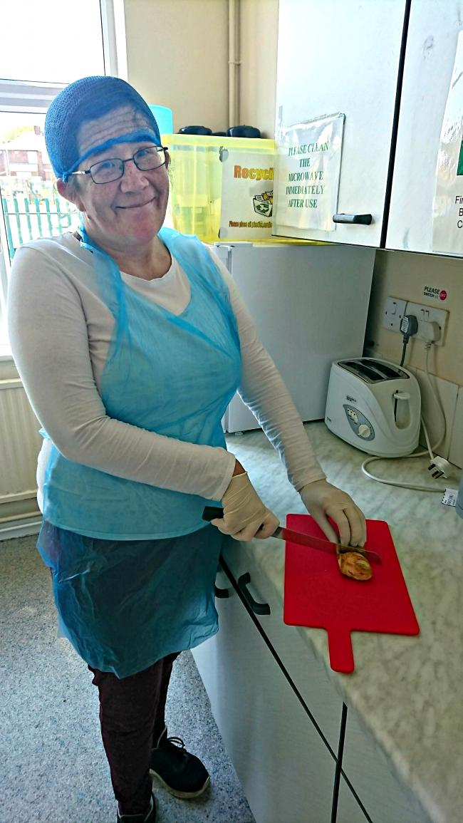 Donna Wilkinson of Peterlee has done training with the Adult Learning and Skills Service
