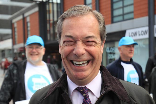 Letters: 'Nigel Farage portrayed Britain as a nation of thugs in Brussels'
