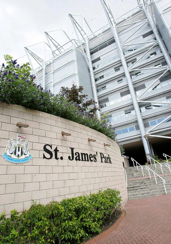 Newcastle's St James' Park to be Rugby World Cup venue