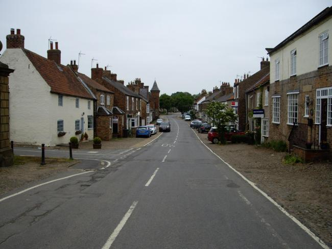 Helperby, where residents are calling for a council review of transport needs