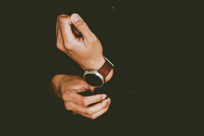 A man wearing a watch. Picture: Pixabay.com