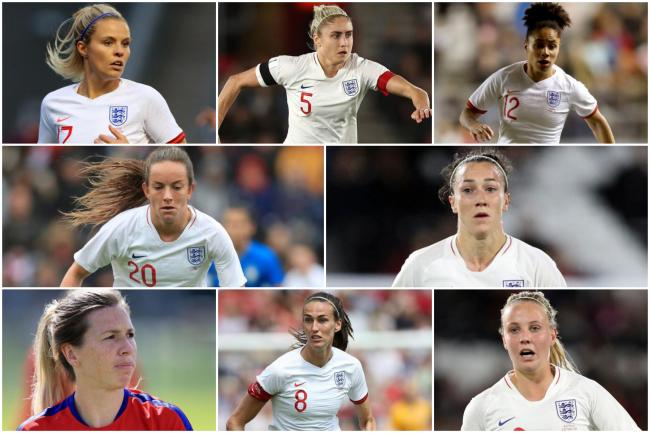 The eight women's World Cup stars from the North-East and North Yorkshire