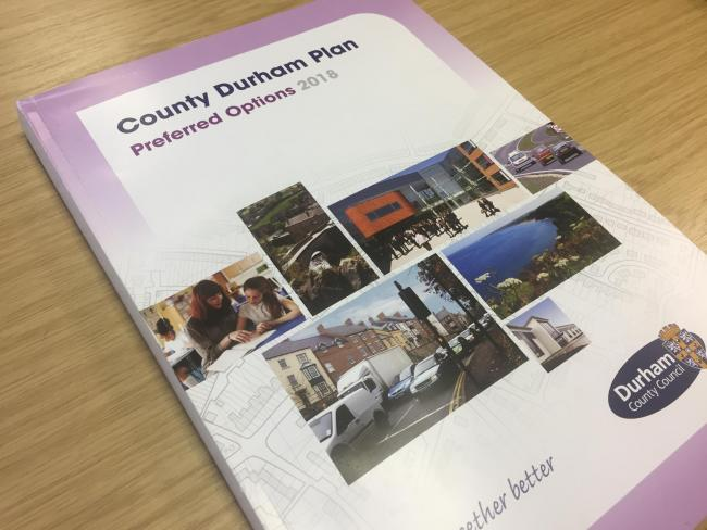 Durham County Council is preparing to submit the final version of the County Durham Plan