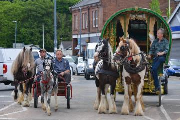 Appleby Horse Fair: Temporary stop over areas set up in County Durham