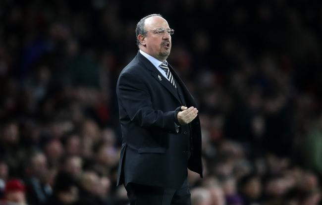 Newcastle United manager Rafael Benitez during the Premier League match at the Emirates Stadium, London. PRESS ASSOCIATION Photo. Picture date: Monday April 1, 2019. See PA story SOCCER Arsenal. Photo credit should read: Adam Davy/PA Wire. RESTRICTIONS: E