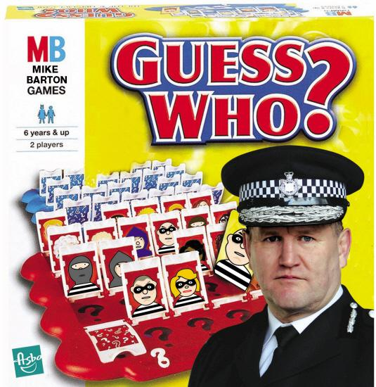 UNCOMPROMISING:  Departing Durham Chief Constable Mike Barton adapted a board game to deliver a message to criminals