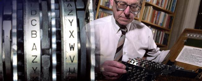 Dr Mark Baldwin and his Enigma machine will be coming to the Gala in Durham