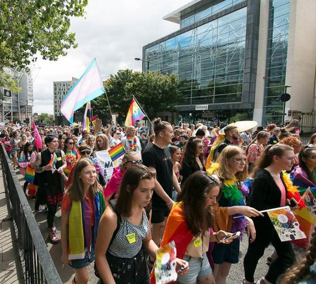 Last year's Northern Pride festival attracted more than 20,000 people to Newcastle