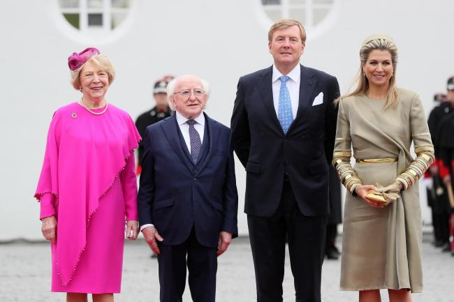 King Willem-Alexander and Queen Maxima of the Netherlands visit Ireland