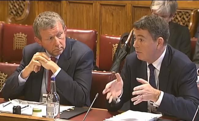 Dr Paul Lelliott, lead for mental health inspection at the Care Quality Commission, and its chief executive Ian Trenholm give evidence to the Human Rights Committee