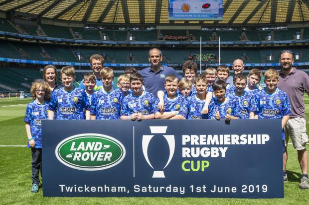 Durham City RFC U12s  Picture: James Robinson