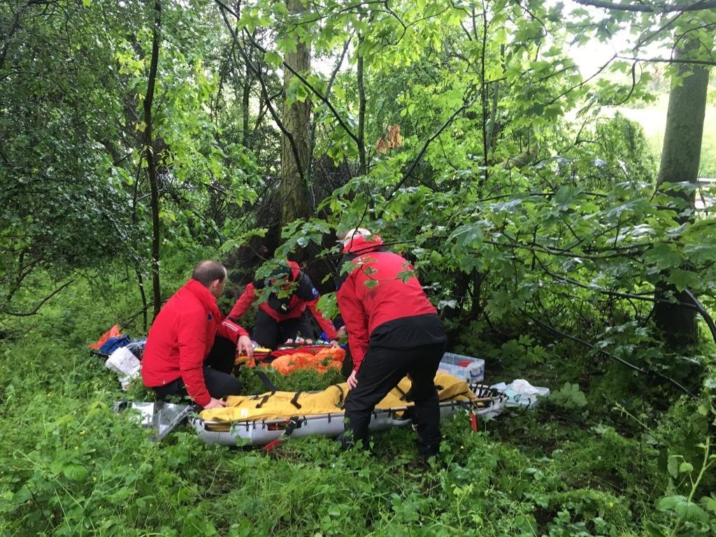 Rescuers find John Vaughan suffering from hypothermia in woodland